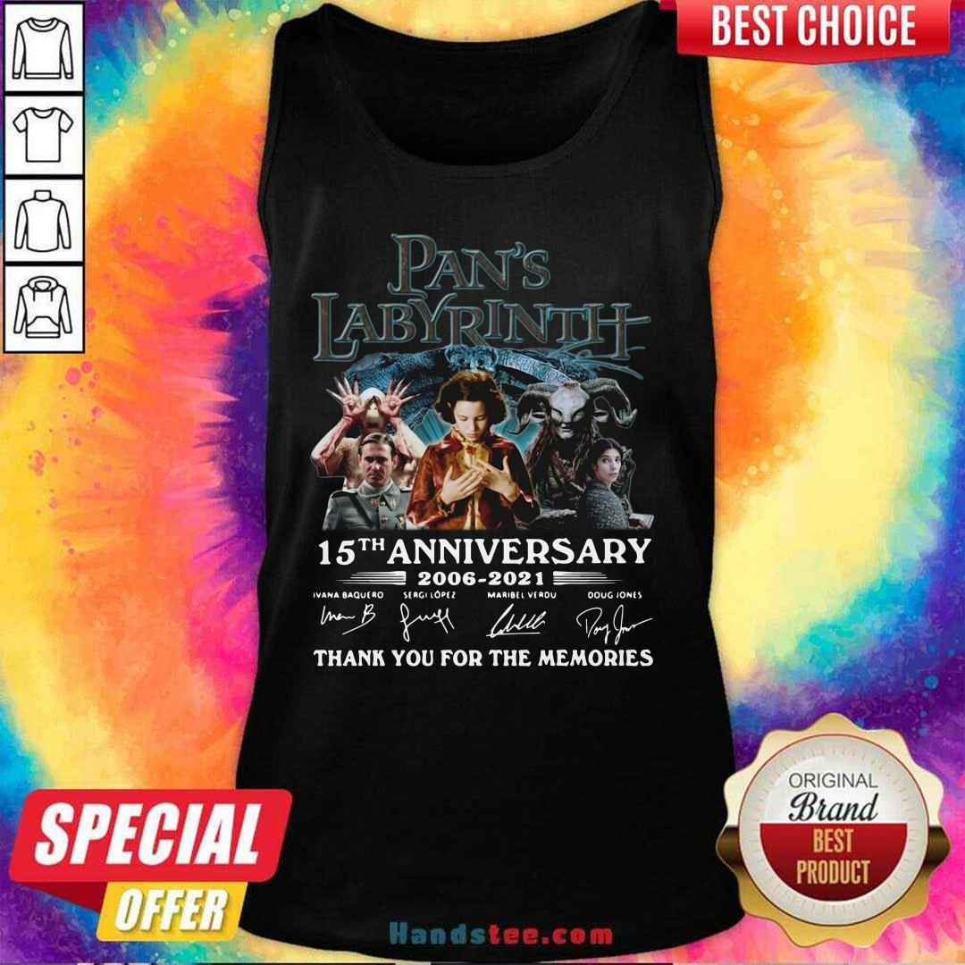 Angry Pans Labyrinth 15th Tank Top - Design by Handstee.com