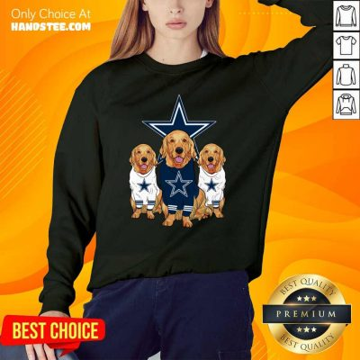 Annoyed Dogs For Team Dallas Cowboy Star 2021 Sweater