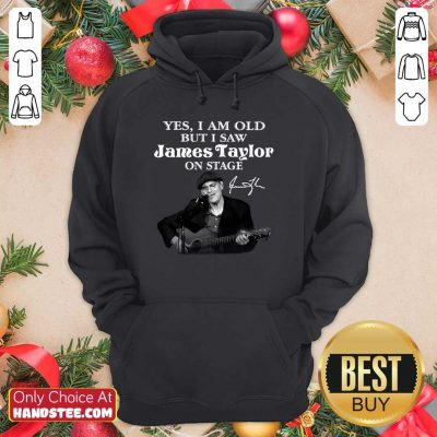 Awesome 29 James Taylor On Stage Hoodie - Design by Handstee.com