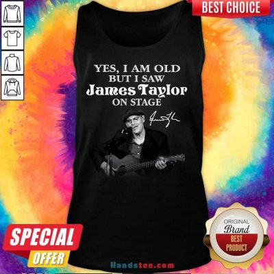 Awesome 29 James Taylor On Stage Tank Top - Design by Handstee.com