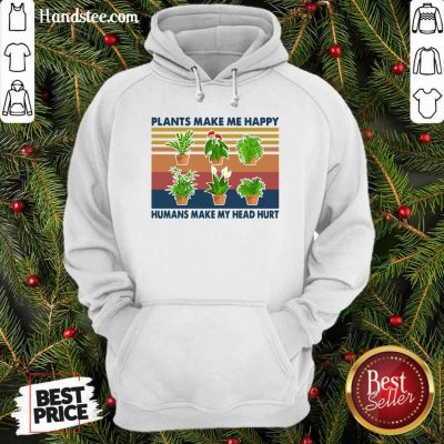 Awesome 4 Gardening Plants Happy Hoodie - Design by Handstee.com
