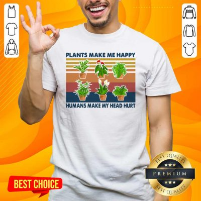 Awesome 4 Gardening Plants Happy Shirt - Design by Handstee.com