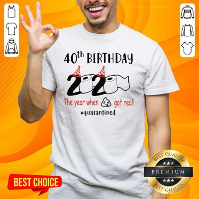 Awesome 40th Birthday 2020 Shirt - Design by Handstee.com