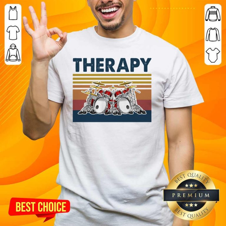 Awesome 44 Therapy Drum Band Music Shirt - Design by Handstee.com