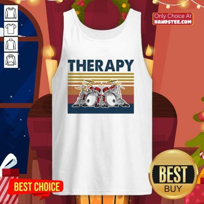 Awesome 44 Therapy Drum Band Music Tank Top - Design by Handstee.com