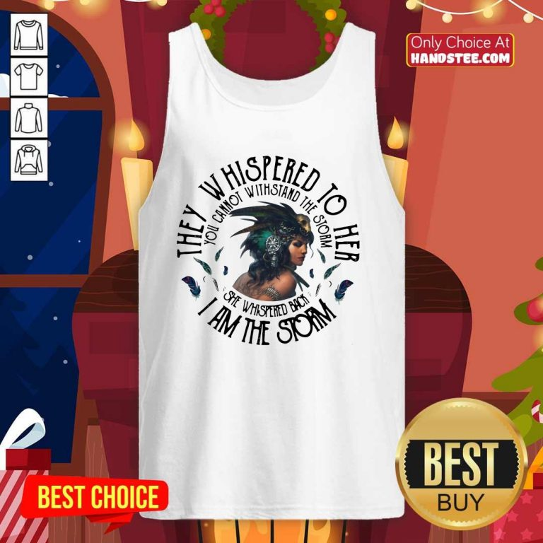 Awesome 45 Cannot Strom The Girl Tank Top - Design by Handstee.com