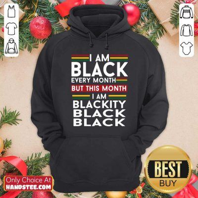 Awesome I Am 0 Black Every Month Hoodie - Design by Handstee.com