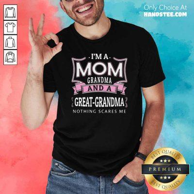 Awesome Im A Mom Grandma 26 Shirt - Design by Handstee.com
