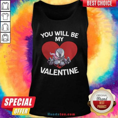 Awesome Venom You Will Be My Valentine Tank Top - Design by handstee.com