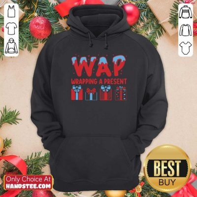 Awesome Wap Wrapping A Present Hoodie - Design by handstee.com