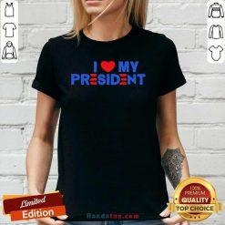 Bewildered 5 I Love My President 2021 Ladies Tee - Design by Handstee.com