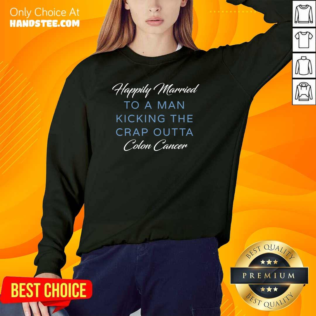 Confident Happily Married Man Kicking 4 Sweater - Design By Handstee.com