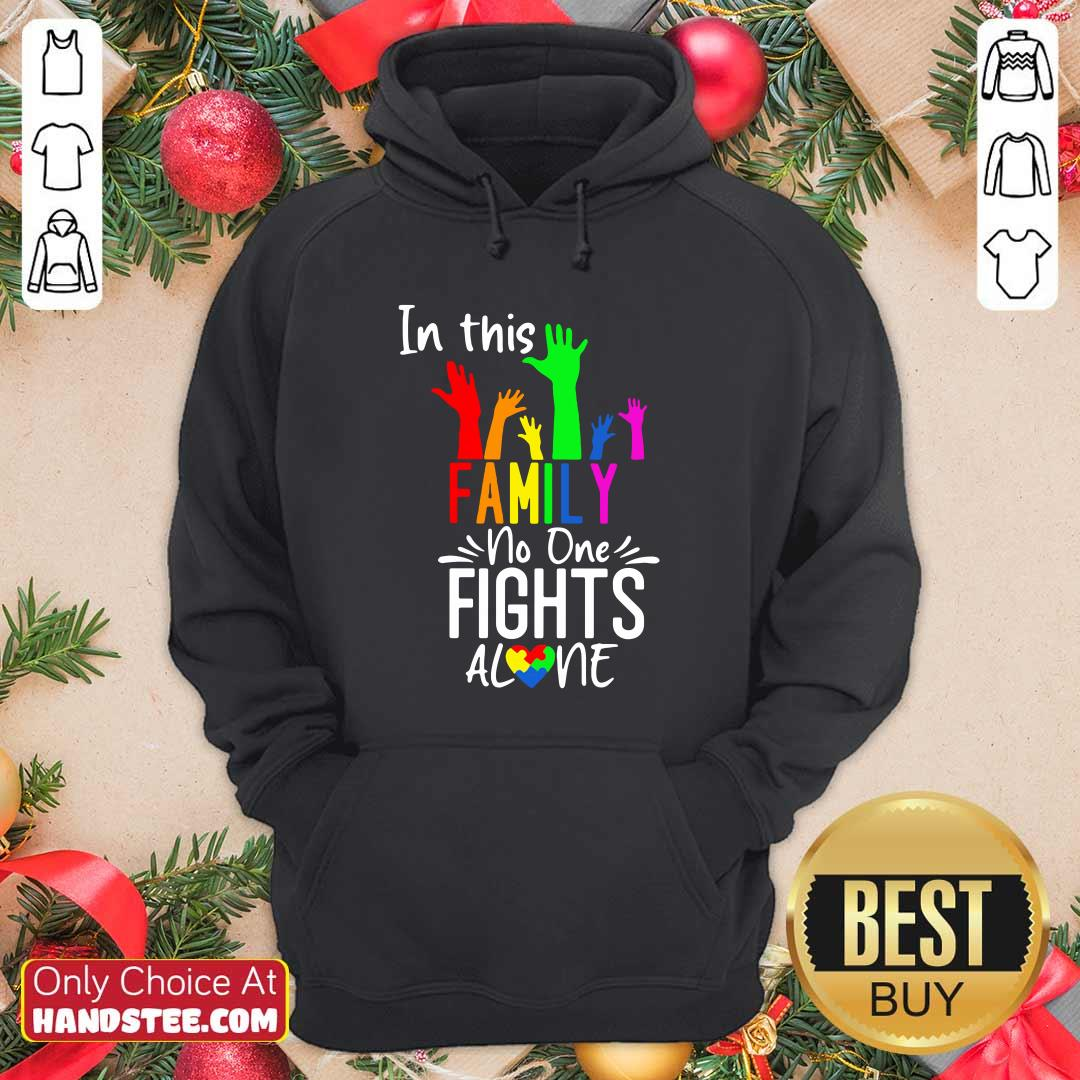 Cool No One Fights Alone LGBT 22 Hoodie - Design by Handstee.com