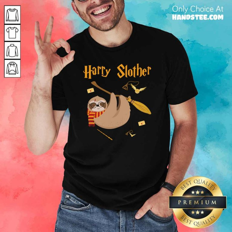 Cute Harry Potter Sloth Slother 65 Shirt - Design by Handstee.com