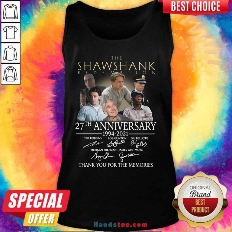 Cute The Shawshank Redemption 27th Tank Top - Design by Handstee.com