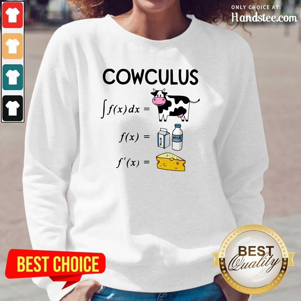 Depressed Cowculus 1 Math Antiderivative Long-Sleeved - Design by Handstee.com