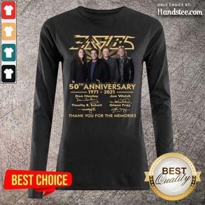 Ecstatic Eagles 50th Anniversary Highly Long-Sleeved - Design By Handstee.com