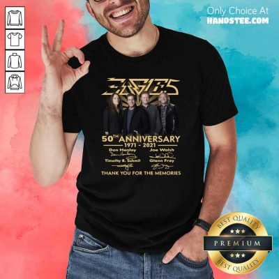 Ecstatic Eagles 50th Anniversary Highly Shirt - Design By Handstee.com