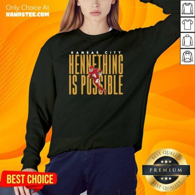 Ecstatic Kansas City Chiefs Chad Henne Hennething 2 Sweater