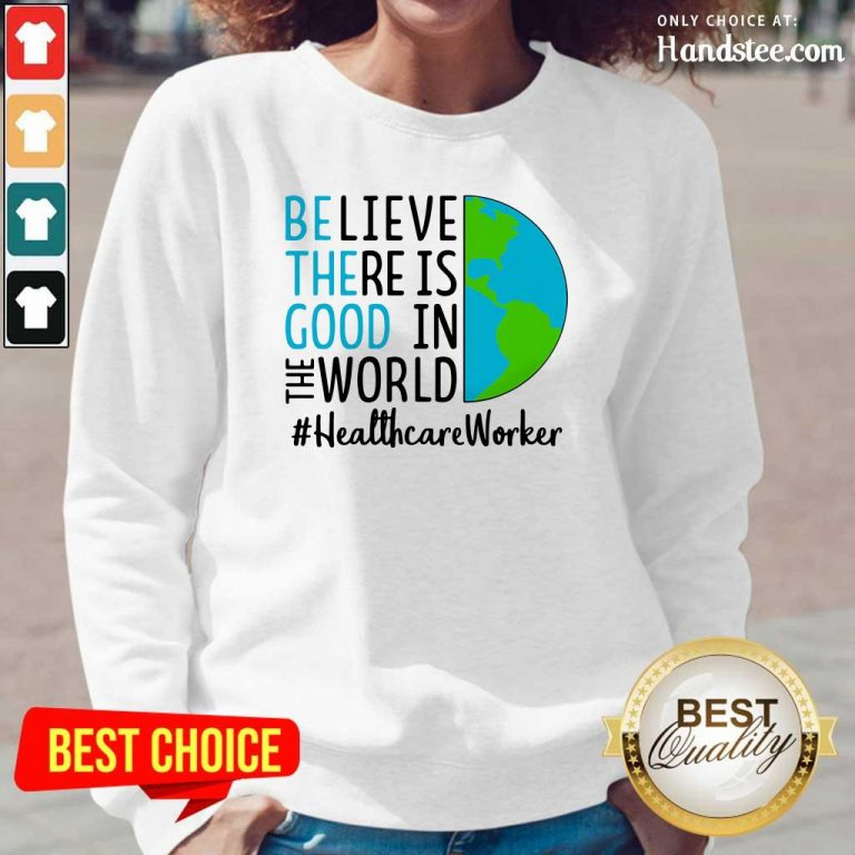 Excited In The World #Healthcare Worker 2021 Too Long-Sleeved - Design By Handstee.com