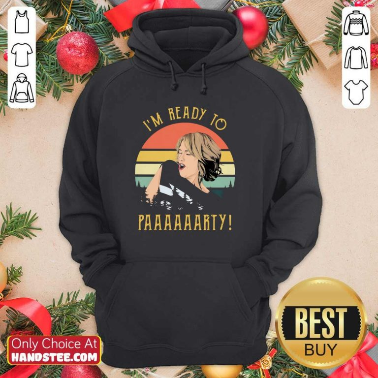 Excited Ready To 55 Party Vintage Hoodie - Design by Handstee.com