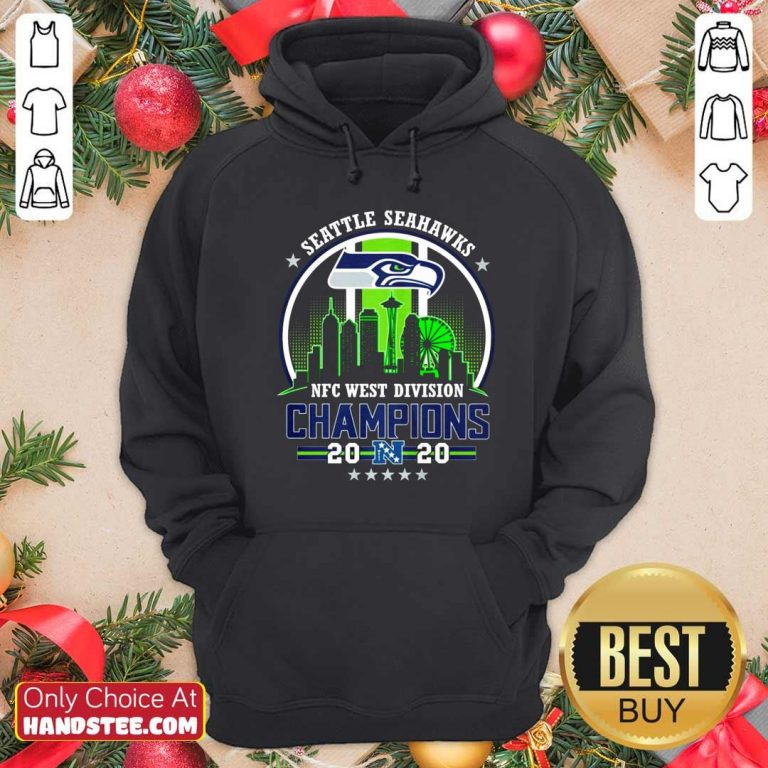 Funny Seattle Seahawks Nfc West Division Champions 2020 Hoodie - Design by handstee.com
