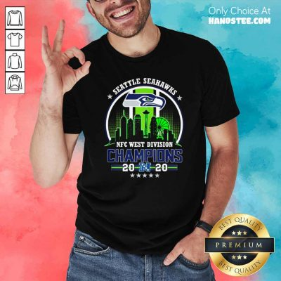 Funny Seattle Seahawks Nfc West Division Champions 2020 Shirt - Design by handstee.com