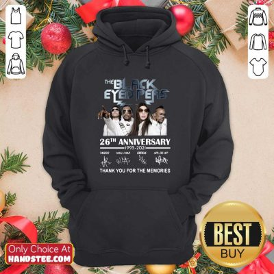 Funny The Black Eyed Peas 26th Hoodie - Design by Handstee.com