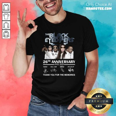 Funny The Black Eyed Peas 26th Shirt - Design by Handstee.com