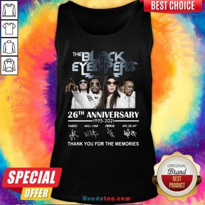 Funny The Black Eyed Peas 26th Tank Top - Design by Handstee.com