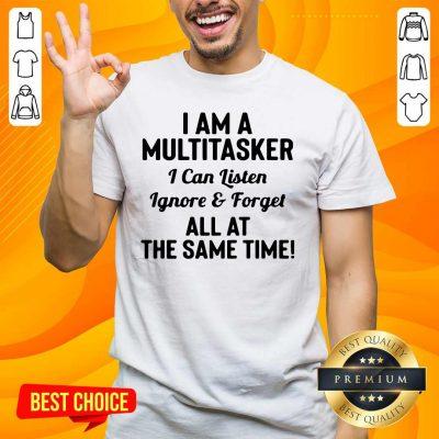 Good 42 I Am A Multitasker Shirt - Design by Handstee.com