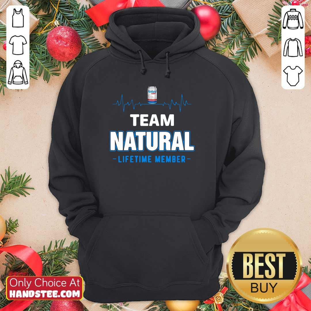 Good Team Natural Lifetime Member 77 Hoodie - Design by Handstee.com
