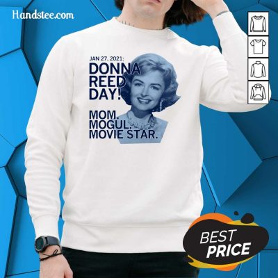 Great Donna Reed Day Mogul Movie Star 3 Sweater - Design By Handstee.com