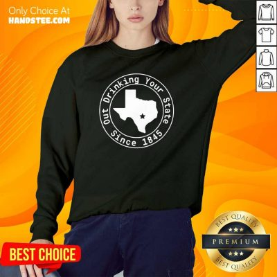 Great Drinking Your State Since 1845 Sweater - Design By Handstee.com