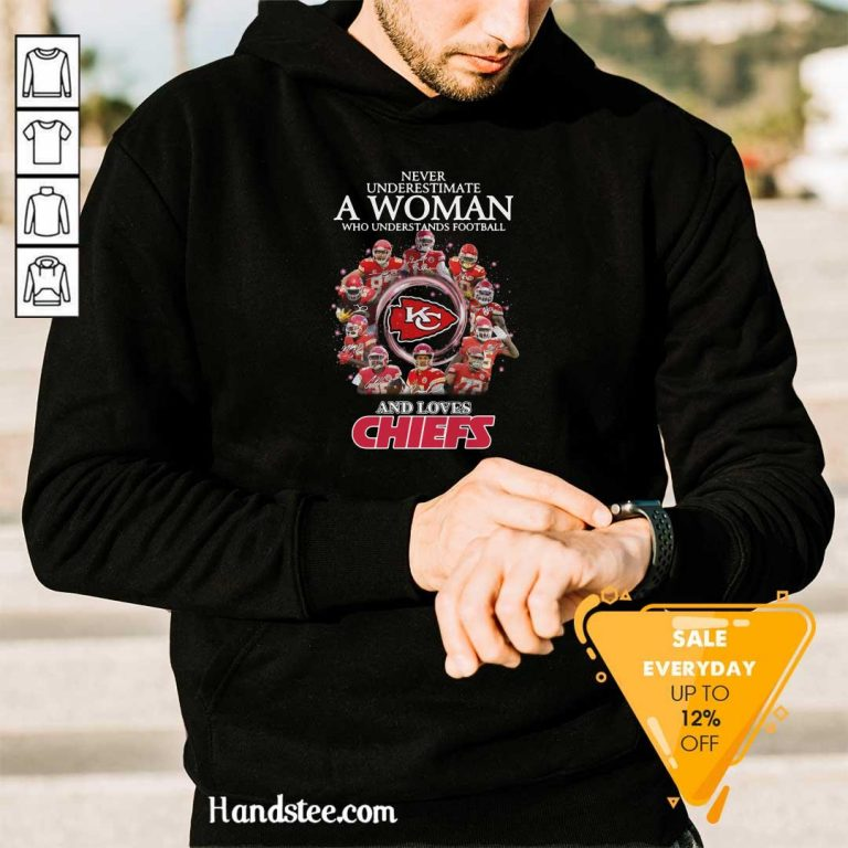 Great Football And Loves Chiefs 2 Hoodie - Design By Handstee.com