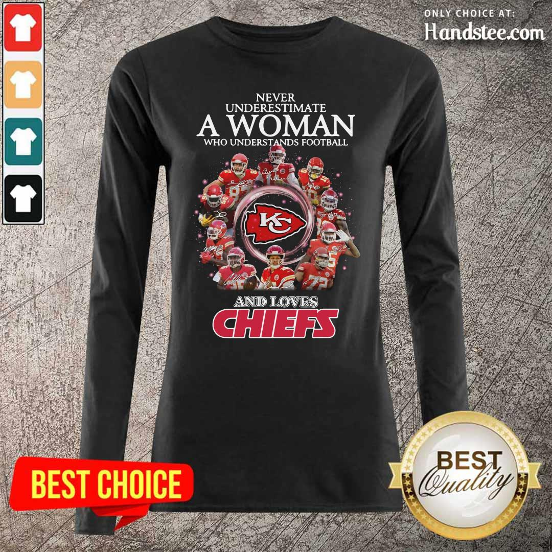 Great Football And Loves Chiefs 2 Long-Sleeved - Design By Handstee.com