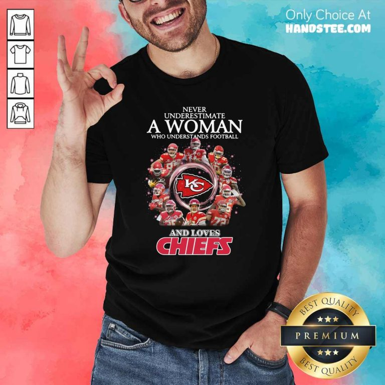 Great Football And Loves Chiefs 2 Shirt - Design By Handstee.com