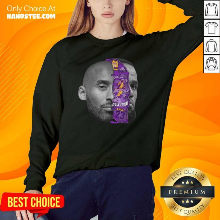 Great Kobe Bryant In Hollywood 2 Sweater - Design By Handstee.com
