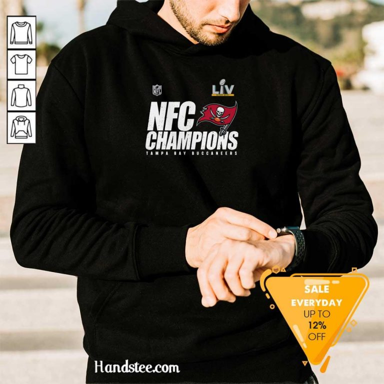 Great NFC Champions Tampa Bay 2 Hoodie - Design By Handstee.com