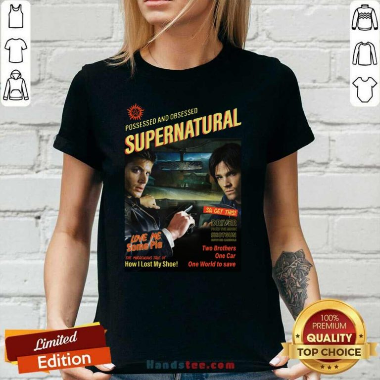 Great Supernatural Driver The Music 2 Ladies Tee - Design By Handstee.com