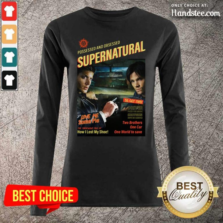 Great Supernatural Driver The Music 2 Long-Sleeved - Design By Handstee.com