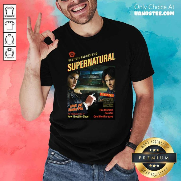 Great Supernatural Driver The Music 2 Shirt - Design By Handstee.com