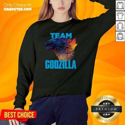 Happy Godzilla Team 2021 Sweater - Design By Handstee.com