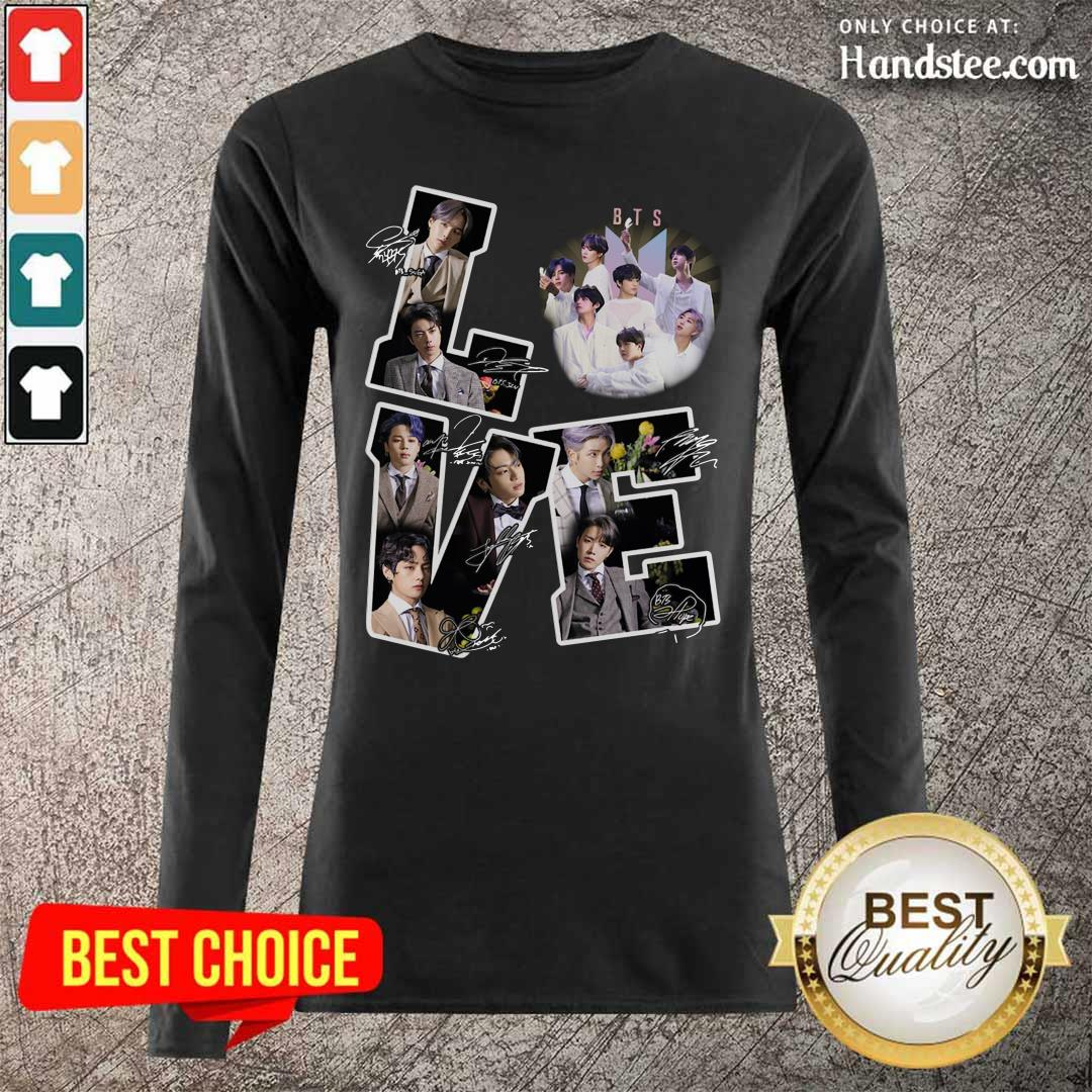 Happy Love BTS Army 2021 Character Long-Sleeved