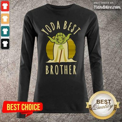 Happy Star War Yoda Best Brother 2021 Long-Sleeved