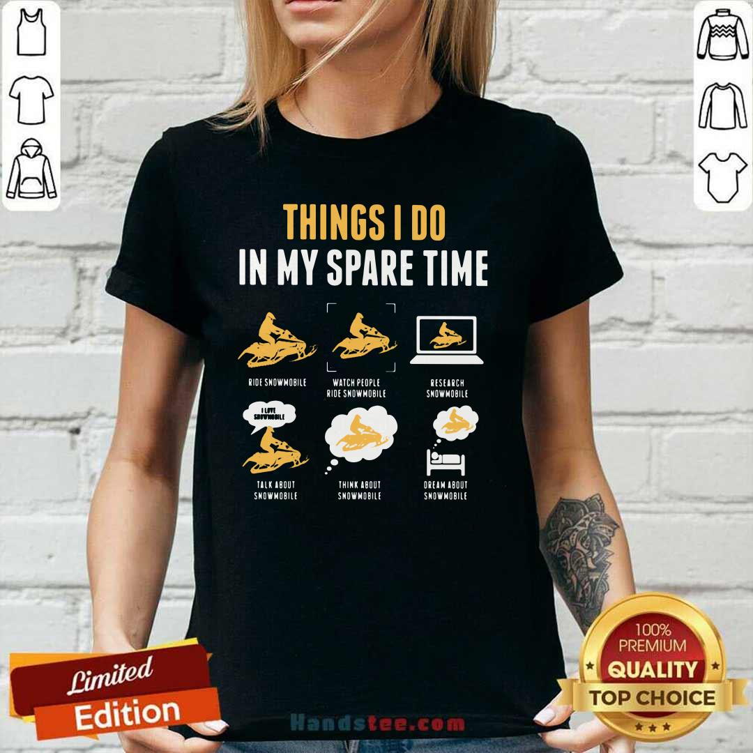 Happy Things I Do In My Spare Time 4 Ladies Tee