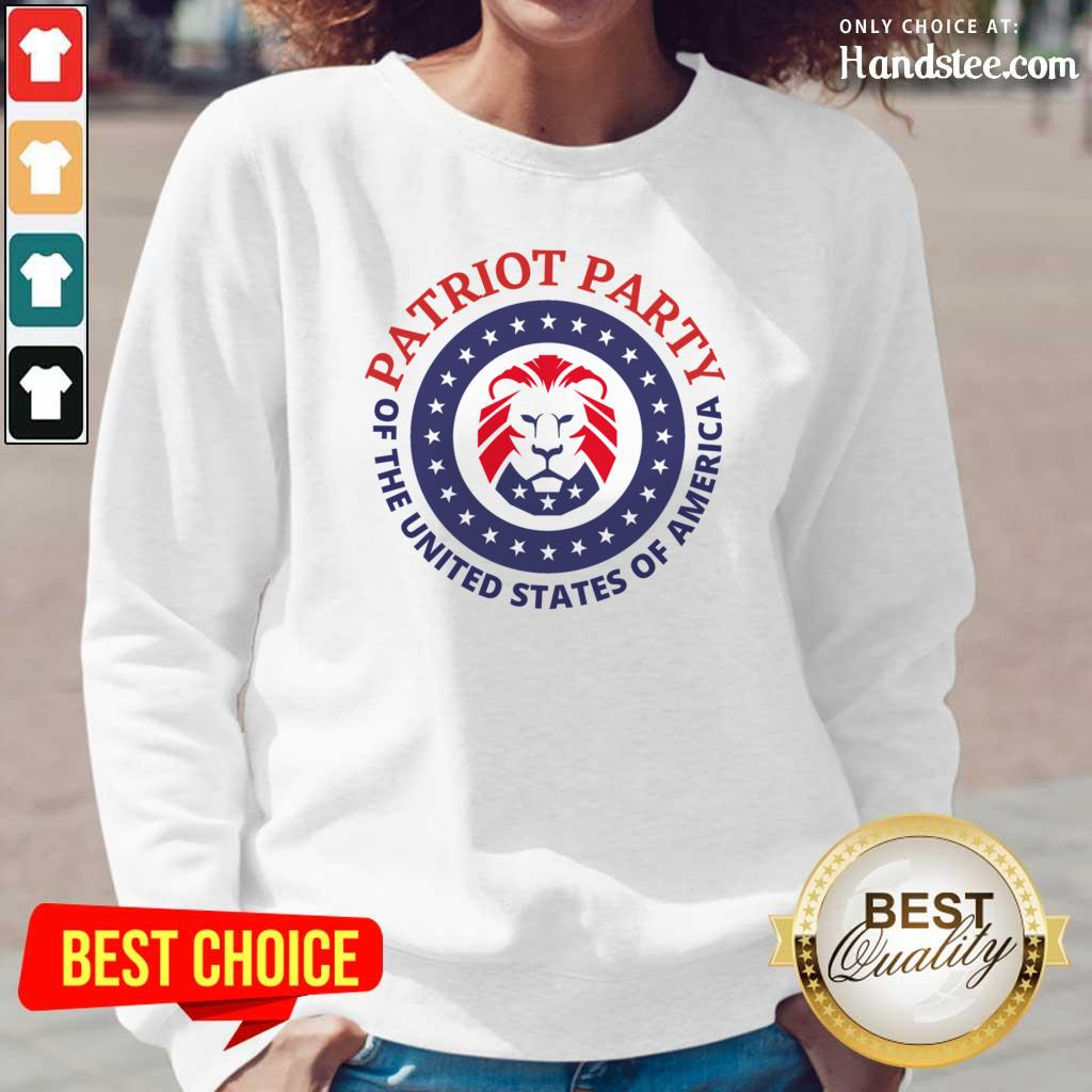 Horrified Party Of The United States Of America 5 Long-Sleeved