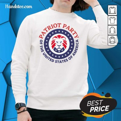 Horrified Party Of The United States Of America 5 Sweater