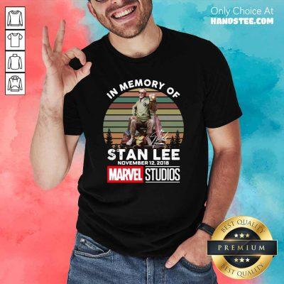 Hot 12 2018 Marvel Studios Retro Shirt - Design by Handstee.com