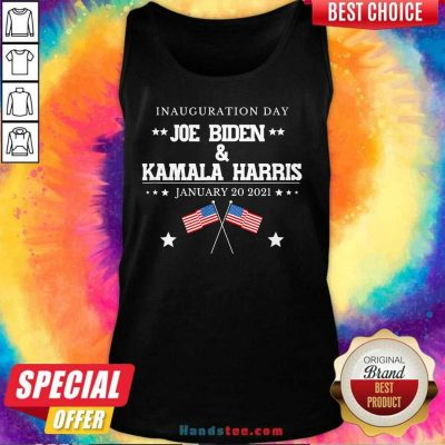 Hot And Harris Inauguration Day 2021 Tank Top - Design by Handstee.com